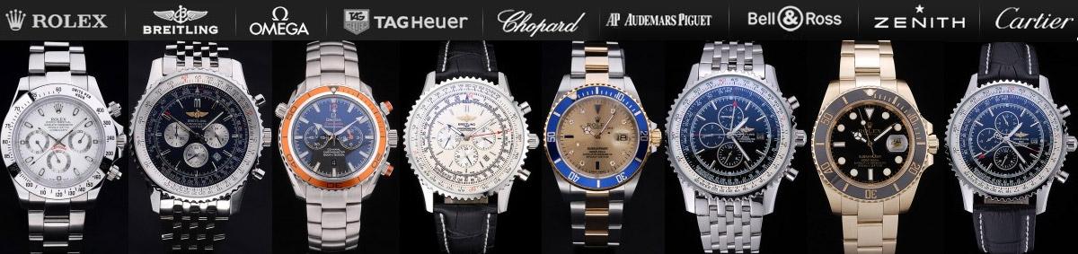 Replica Uhren: Schweizer Rolex Replica,Breitling,Omega,Ap